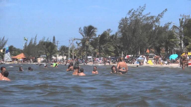 Praia Seca Araruama localizada no Rio de Janeiro