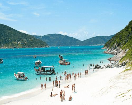 Praia do Farol Arraial do Cabo – Ilha de Cabo Frio – Rio de Janeiro