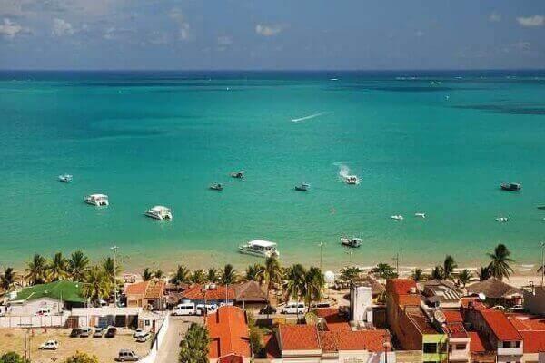 5 Das melhores praias do brasil é Maragogi - Alagoas