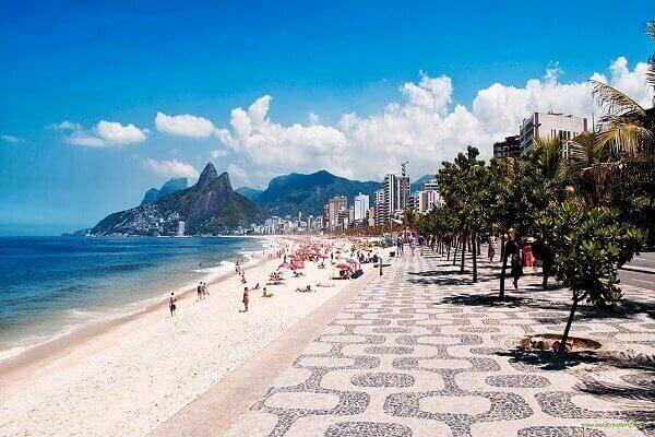 atrações turísticas no Brasil - Copacabana, Rio de Janeiro