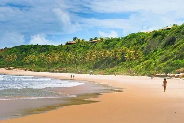 Praia de Pipa, a melhor praia do brasil