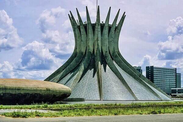 atrações turísticas no Brasil - Arquitetura Modernista de Brasília