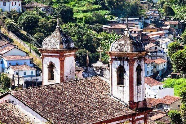 atrações turísticas no Brasil - Ouro Preto