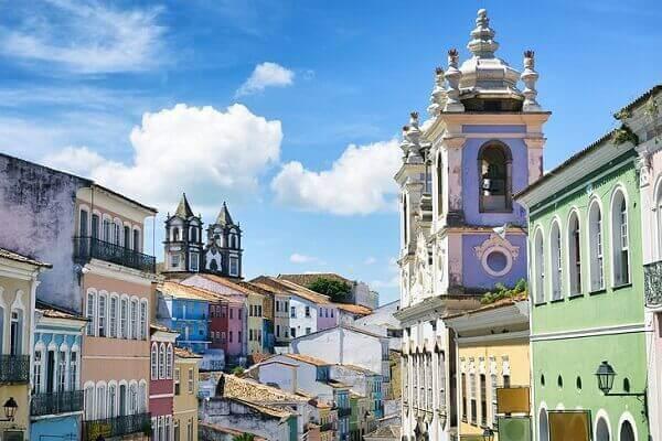 atrações turísticas no Brasil - Pelourinho de Salvador
